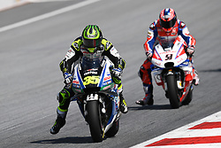 August 12, 2018 - Spielberg, Austria - 35 English driver Cal Crutchlow of Team LCR Honda race during of Austrian MotoGP grand prix in Red Bull Ring in Spielberg, Austria, on August 12, 2018. (Credit Image: © Andrea Diodato/NurPhoto via ZUMA Press)