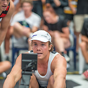Michael Brake  Mens relay Race #26  03:30pm<br /> <br /> www.rowingcelebration.com Competing on Concept 2 ergometers at the 2018 NZ Indoor Rowing Championships. Avanti Drome, Cambridge,  Saturday 24 November 2018 © Copyright photo Steve McArthur / @RowingCelebration