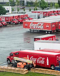 May 29, 2017 - Needham, Massachusetts, U.S. -  The Coca Cola Bottling Company of New England.(Credit Image: © Brian Cahn via ZUMA Wire)