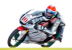 October 22, 2016 - Melbourne, Victoria, Australia - South African rider Darren Binder (#40) of Platinum Bay Real Estate in action during the 3rd Moto3 Free Practice session at the 2016 Australian MotoGP held at Phillip Island, Australia. (Credit Image: © Theo Karanikos via ZUMA Wire)