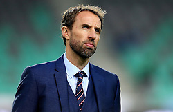 Interim England Manager Gareth Southgate looks up into the stands - Mandatory by-line: Robbie Stephenson/JMP - 11/10/2016 - FOOTBALL - RSC Stozice - Ljubljana, England - Slovenia v England - World Cup European Qualifier