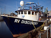 RV Discovery survey ship, Ipswich, Suffolk, England