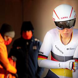 11-03-2021: Wielrennen: Healthy Ageing Tour: Lauwersoog. <br />Lisa Klein