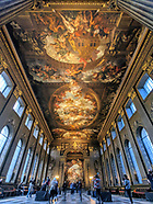 Greenwich & Old Royal Naval College Painted Hall