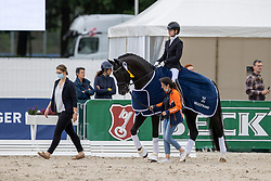 Fry Charlotte, GBR, Kjento<br /> World Championship Young Horses Verden 2021<br /> © Hippo Foto - Dirk Caremans<br /> 25/08/2021