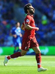 Mohamed Salah of Liverpool in action- Mandatory by-line: Nizaam Jones/JMP - 21/04/2019 -  FOOTBALL - Cardiff City Stadium - Cardiff, Wales -  Cardiff City v Liverpool - Premier League