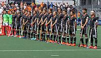 AMSTELVEEN - Team Duitsland EK hockey, finale Nederland-Duitsland 2-2. mannen.  Nederland wint de shoot outs en is Europees Kampioen.  COPYRIGHT KOEN SUYK