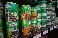 Food products from Aleppo for sale in the 'Halep' store, in Armenia's capital city, Yerevan.