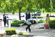 GILBERTSVILLE, PA - JUNE 1, 2013: Ashley & Michael's wedding June 1, 2013 at New Hanover United Methodist Church in Gilbertsville, Pennsylvania. (Photo by William Thomas Cain/Cain Images' Love Wedding Photos) http://www.loveweddingphotos.com