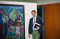 DEU, Deutschland, Germany, Berlin, 30.05.2018: Bundesverkehrsminister Andreas Scheuer (CSU) vor Beginn der 11. Kabinettsitzung im Bundeskanzleramt.