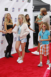 FONTANA, CA - MARCH 26  Kendra Wilkinson walks the red carpet at NASCAR's Auto Club 400 drivers meeting prior to the race. 2017 march 26.  Byline, credit, TV usage, web usage or link back must read SILVEXPHOTO.COM. Failure to byline correctly will incur double the agreed fee. Tel: +1 714 504 6870.