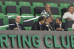 September 20, 2018 - Na - Lisbon, 09/20/2018 - Sporting CP received Fafe this evening in anticipation of the 4th day of Handball - I Division, at the Jo√£o Rocha Pavilion, Lisbon. Karabakh Leaders  (Credit Image: © Atlantico Press via ZUMA Wire)