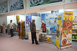 Vendors inside the exhibition hall at Monsoon Cup 2010. World Match Racing Tour, Kuala Terengannu, Malaysia. 30 November 2010. Photo: Subzero Images/WMRT