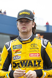 June 10, 2018 - Brooklyn, Michigan, U.S - NASCAR driver ERIK JONES (20) walks in the pit area at Michigan International Speedway. (Credit Image: © Scott Mapes via ZUMA Wire)
