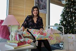 © licensed to London News Pictures. London, UK 26/11/2012. Designer Kirstie Allsopp launching her children's bed linen collection 'Little Living' at Peter Jones store in Sloane Square. Photo credit: Tolga Akmen/LNP