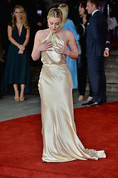 © Licensed to London News Pictures. 02/11/2017. London, UK. CAMILLA KERSLAKE attends the World Film premiere of Murder On The Orient Express . Photo credit: Ray Tang/LNP