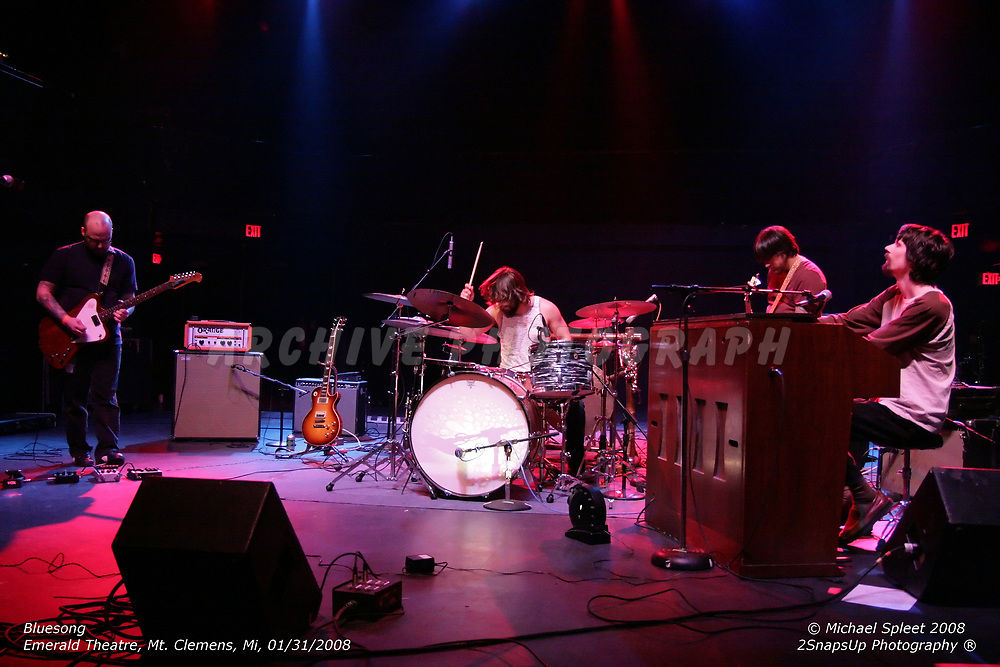 MT. CLEMENS, MI, THURSDAY, JAN. 31, 2008: Bluesong,  at Emerald Theatre, Mt. Clemens, MI, 01/31/2008. (Image Credit: Michael Spleet / 2SnapsUp Photography)