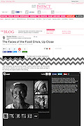 2012 06 19 Tearsheet Huffington Post The faces of the food crisis Niger