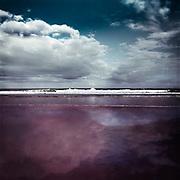 Brandung des Atlantik bei Mimizan-Plage, Frankreich<br /> Surf of the Atlantic Ocean near Mimizan-Plage, France<br /> Redbubble Prints & more: http://rdbl.co/2t4LRWC<br /> Society6 Prints & more: http://bit.ly/2spTbKs
