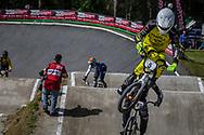 #5 (TREIMANIS Edzus) LAT during round 4 of the 2017 UCI BMX  Supercross World Cup in Zolder, Belgium.