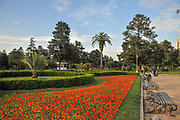Japanese style garden at Miracle Park, Batumi, Georgia