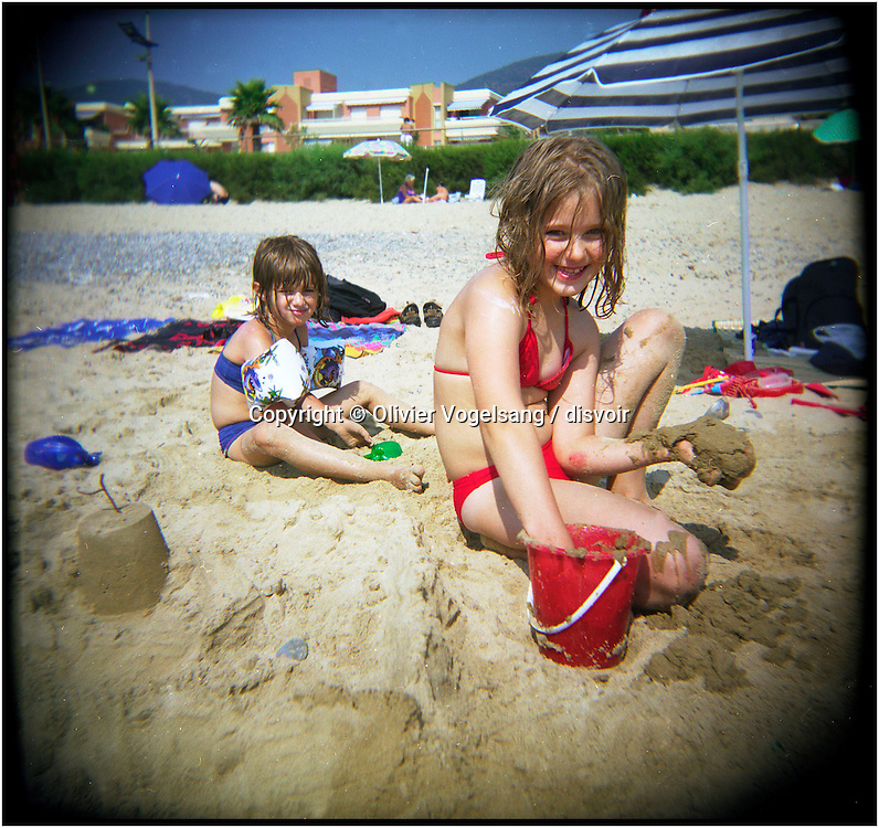 France. Cavalaire. Holiday to the beach.
