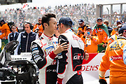 June 10-16, 2019: 24 hours of Le Mans. 8 Kazuki Nakajima,  Toyota Gazoo Racing, TOYOTA TS050 - HYBRID , 8 Sébastien Buemi, Toyota Gazoo Racing, TOYOTA TS050 - HYBRID