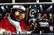 Grafitti and Artwork Notting Hill Carnival 2014