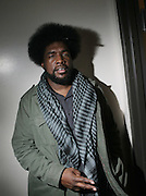 Questlove(ROOTS) backstage at The ROOTS Present the Jam Produced by Jill Newman Productions on March 19, 2009 held at Highline Ballroom in New York City.