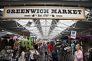 Greenwich Market in London, England, United Kingdom.