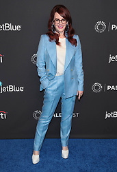 """Megan Mullally at The 2018 PaleyFest Los Angeles - NBC's """"Will & Grace""""."""