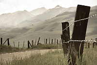 A country road near Crested Butte, Colorado.