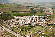 Israel, Lower Galilee, Hamaam or Wadi Hamam a Bedouin village Near the Arbel Cliff and the Sea of Galilee
