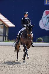 HAGEN a.T.W. - Horses and Dreams meets Japan Sports Edition 2021<br /> <br /> KIRCHHOFF Senta (GER), L'Arbuste OLD<br /> CDI 4* Grand Prix<br /> Qualifikation für Grand Prix Special<br /> Preis des Gestütes Vorwerk<br /> <br /> Hagen a.T.W., Hof Kasselmann<br /> 23. April 2021<br /> © www.sportfotos-lafrentz.de/Stefan Lafrentz