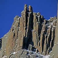 BAFFIN ISLAND, Nunavut, Canada. Unnamed crags above Stewart Valley.