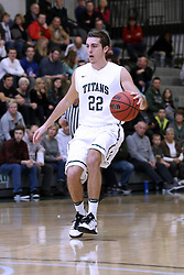 07 January 2017:  Austin Amann during an NCAA men's division 3 CCIW basketball game between the Wheaton Thunder and the Illinois Wesleyan Titans in Shirk Center, Bloomington IL