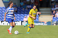 AFC Wimbledon midfielder Chris Whelpdale (11) during the Pre-Season Friendly match between AFC Wimbledon and Reading at the Cherry Red Records Stadium, Kingston, England on 23 July 2016. Photo by Stuart Butcher.