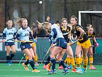 LAREN - Hockey - Hoofklasse competitie dames . Laren-Den Bosch (1-2).  Lisanne de Lange (Laren) . COPYRIGHT KOEN SUYK