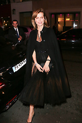 Eva Herzigova arriving at Dior Addict Stellar Shine diner and party at Roxie restaurant during Ready To Wear A/W 2019-2020 as part of Paris Fashion Week on February 26, 2019 in Paris, France. Photo by Nasser Berzane/ABACAPRESS.COM