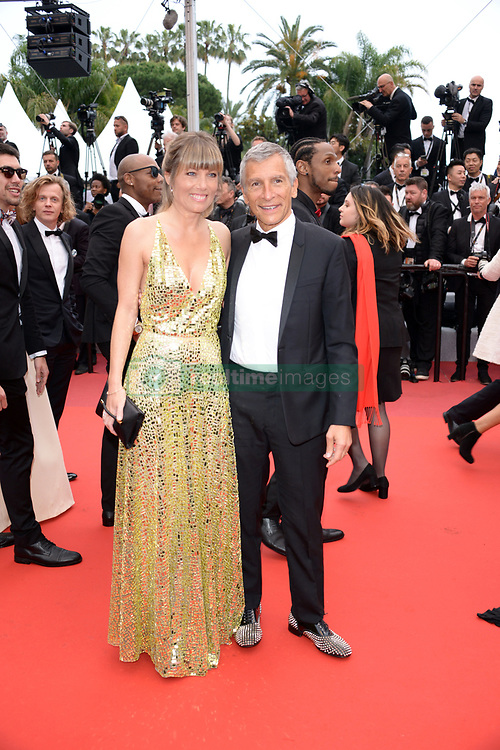 May 18, 2019 - Cannes, France - CANNES, FRANCE - MAY 18: Nagui Fam and Melanie Page attend the screening of ''Les Plus Belles Annees D'Une Vie'' during the 72nd annual Cannes Film Festival on May 18, 2019 in Cannes, France. (Credit Image: © Frederick InjimbertZUMA Wire)