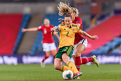 OSLO, NORWAY - Tuesday, September 22, 2020: Wales' Anna Filbey during the UEFA Women's Euro 2022 England Qualifying Round Group C match between Norway Women and Wales Women at the Ullevaal Stadion. Norway won 1-0. (Pic by Vegard Wivestad Grøtt/Propaganda)