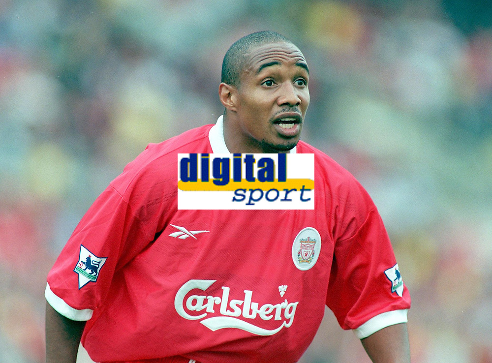 Fotball<br /> England historie<br /> Foto: Colorsport/Digitalsport<br /> NORWAY ONLY<br /> <br /> PAUL INCE (LIVERPOOL). LIVERPOOL V LEEDS UNITED. THE CARLSBERG TROPHY, LANSDOWNE ROAD, 31/07/1998 AND 01/08/1998. FOOTBALL 1998/9.