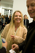 VANESSA BRANSON, Rebecca Warren exhibition opening at the Serpentine Gallery. London.  9 March  2009 *** Local Caption *** -DO NOT ARCHIVE -Copyright Photograph by Dafydd Jones. 248 Clapham Rd. London SW9 0PZ. Tel 0207 820 0771. www.dafjones.com<br /> VANESSA BRANSON, Rebecca Warren exhibition opening at the Serpentine Gallery. London.  9 March  2009