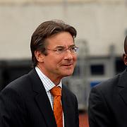 NLD/Amsterdam/20070526 - Suriprofs - Jong Oranje 2007, minister van Buitenlandse Zaken, Maxime Verhagen