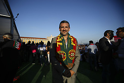 June 25, 2018 - Na - Lisbon, 06/25/2018 - Report on the Portugal Arena, at the Terreiro do Paço in Lisbon, during the broadcast of the match Portugal vs Iran, to be counted towards the 2018 World Cup group stage Alexandre Fonseca, President Altice  (Credit Image: © Atlantico Press via ZUMA Wire)