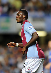 "Aston Villa's Christian Benteke  - Photo mandatory by-line: Joe Meredith/JMP - Tel: Mobile: 07966 386802 21/08/2013 - SPORT - FOOTBALL - Stamford Bridge - London - Chelsea V Aston Villa - Barclays Premier League - EDITORIAL USE ONLY. No use with unauthorised audio, video, data, fixture lists, club/league logos or ""live"" services. Online in-match use limited to 45 images, no video emulation. No use in betting, games or single club/league/player publications"