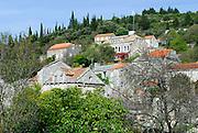 Village of Zrnovo-Brdo, island of Korcula, Croatia