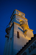 Bell Tower in downtown Ojai, California, USA