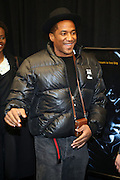 """7 January-NY, NY - Q-Tip at The Notorious premiere held at AMC Lincoln Square on January 7, 2009 in New York City. Photo Credit: Terrence Jennings/Sipa Press..Notorious charts the remarkable rise of Christopher """" The Notorious B.i.G """"-who in just a few short years, shot from the tough streets of Brooklyn to the heights of hip-hop legend."""