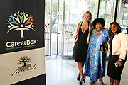 June 12, 2017-New York, New York-United States: (L-R) Andrea M. Skarupski, Ambassador Zindizi Mandela and Lillian Chege attend ' Cocktails & Conversation with Ambassador Zindzi Mandela 'highlighting the advocacy for the equity and rights of girls and women held at the Lincoln Ristorante at Lincoln Center on June 12, 2017 in New York City. Powered by CareerBox Soweto, the organization's mission is fulfill the hopes and dreams of youth of South Africa. (Photo by Terrence Jennings/terrencejennings.com)
